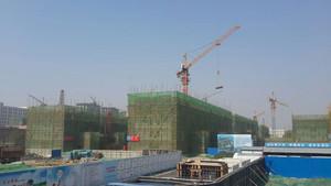 新型建筑模板支撑现场